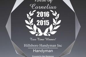 Photo #2: Hillsboro Handyman, LLC