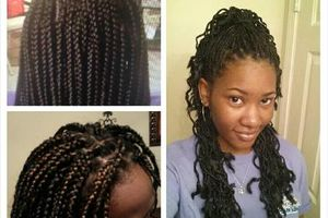 Photo #1: Twin effect hair and braiding