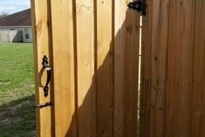 Photo #3: Quality Wood Fence
