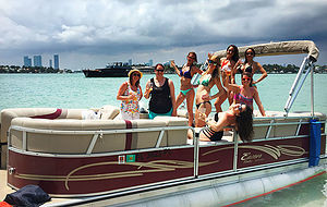 Photo #1: Miami Party Boat Rentals