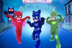 Photo #6: Mascots In Action