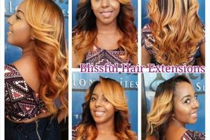 Photo #1: Blissful Hair Extensions