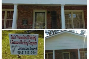 Photo #3: Ben's Professional Painting & Pressure Washing Company