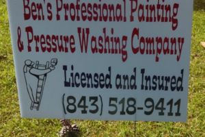 Photo #6: Ben's Professional Painting & Pressure Washing Company