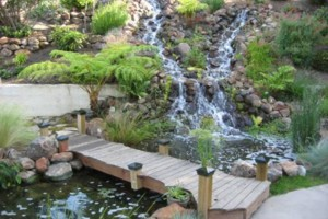 Photo #1: Ponds and Waterfalls Done Right