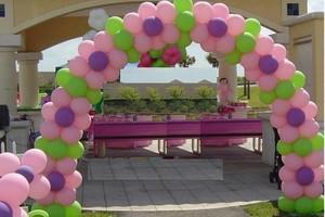 Photo #1: Balloons Arches, center pieces!