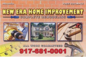 Photo #1: NEW ERA HOME IMPROVMENTS