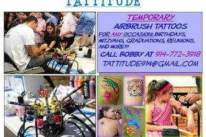 Photo #1: AIRBRUSH TATTOO PARTIES