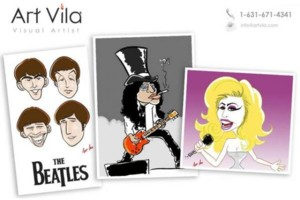 Photo #1: CARICATURES FOR YOUR PARTY OR EVENT