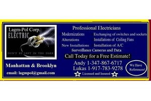 Photo #1: GREAT PRICES LICENSE ELECTRICIAN