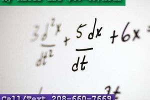 Photo #1: Math tutor can help you. How about a complimentary lesson?