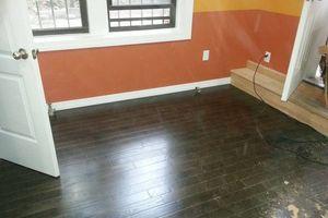 Photo #1: STAINING HARD WOOD FLOORS