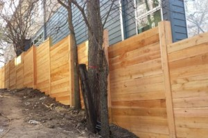 Photo #1: Need a new wood fence?