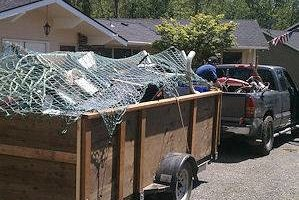 Photo #1: FENCE DECK & SHED REMOVAL
