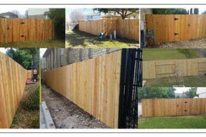 Photo #1: Fence - fence! LABOR AND MATERIALS!