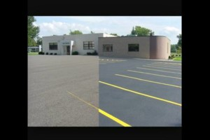 Photo #1: Seal coating & asphalt patching