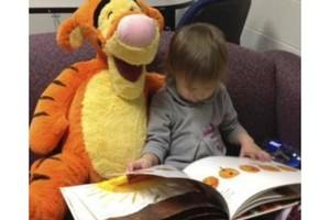 Photo #1: What are babies thinking? UMass Boston Baby Lab