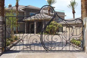 Photo #1: Aesthetic Metals - We make iron gates