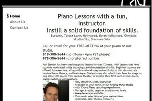 Photo #1: Piano Lessons in your home, Fun, 22yrs exp.