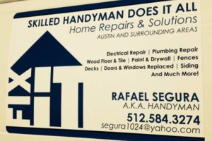 Photo #1: SKILLED HANDYMAN DOES IT ALL CLEAN & HONEST