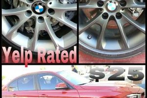 Photo #1: Plastic Dip your Rims for a low price!