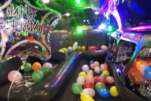 Photo #1: Try a birthday package in a limousine only $60 an hour!