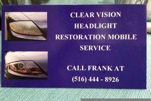 Photo #1: Headlight restoration $30 mobile service guaranteed