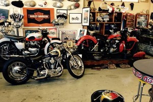 Photo #1: Motorcycle Repairs, Rebuilds, and Service - Jim at Garage Company