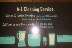 Photo #1: A-1 House cleaning services/painting. Ruben Rosales