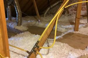 Photo #1: Blown Insulation