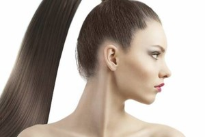Photo #1: HIGH PONYTAIL W/ EXTENSIONS? ONLY WITH PLATINUM FUSION! HAIR INCLUDED!