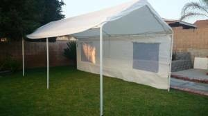 Photo #1: tent /canopies
