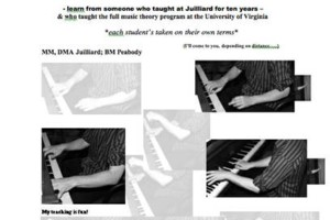Photo #1: PIANO, THEORY, OR COMPOSITION FROM FORMER JUILLIARD TEACHER