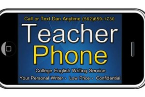 Photo #1: ESSAY WRITER at TEACHER PHONE Essay Writing Fast and Affordable
