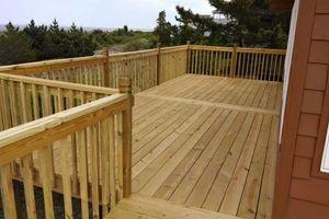 Photo #1: Decks & framing & carpentry