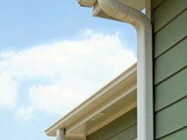 Photo #1: Seamless rain gutters installation