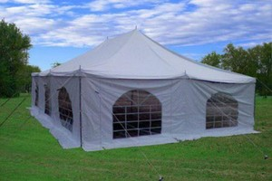 Photo #1: Beautiful 30'x20' Pole Tent for Weedings and Outdoor Events