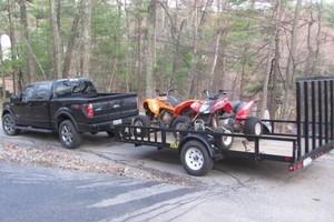 Photo #1: ATV/MOTORCYCLE TRANSPOTATION