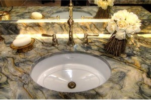Photo #1: Summer Special - Vanity and Kitchen - Countertops and more...