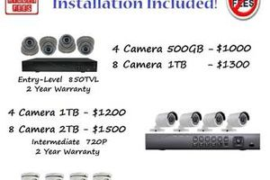 Photo #1: Security Camera Installation, Upgrade, and Service
