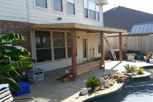 Photo #1: Garza & Son's General Contractor. ROOFING, PATIO DECKS AND COVERS, CONCRETE WORK *****
