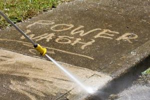 Photo #1: POWER WASHING AND SEALING