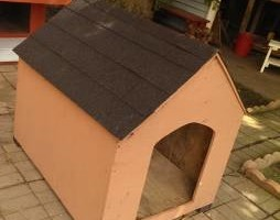 Photo #1: Custom Dog Houses custom made :)