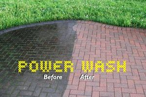 Photo #1: Powerwash Your Driveway, sidewalks, etc.