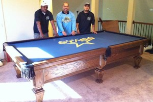 Photo #1: LONG DISTANCE POOL TABLE MOVING