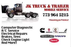 Photo #1: JK Truck & Trailer Mobile Service Repair