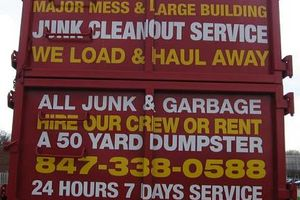 Photo #1: CHICAGO'S #1 JUNK REMOVAL FROM BASEMENTS ATTICS GARAGES APARTMENTS ETC
