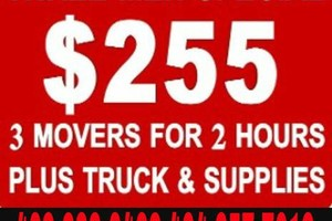 Photo #1: WE CAN MOVE YOU $45/HOUR