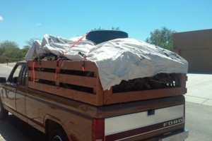 Photo #1: Trash removal/ big truck hauling