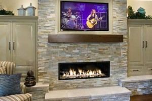 Photo #1: Brick/Stone/Marble TV Mounting & Installation Professionals!!